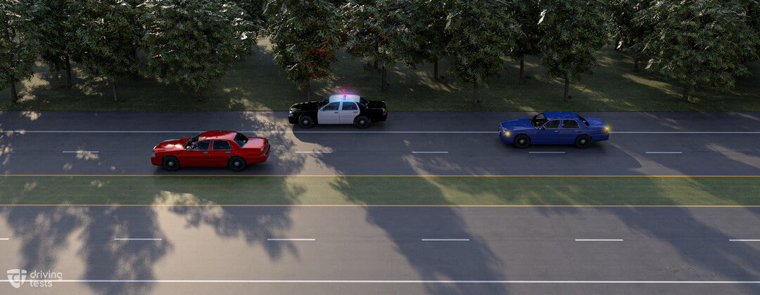 emergency vehicles approaching